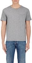 Valentino Men's Stud-Embellished T-Shirt-LIGHT GREY