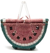 Charlotte Olympia Watermelon basket bag