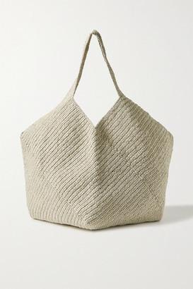 LAUREN MANOOGIAN Pinwheel Crocheted Shoulder Bag - Cream