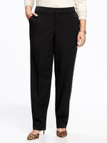 Old Navy Smooth & Slim Plus-Size Mid-Rise Trousers