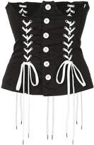 G.V.G.V. lace-up corset
