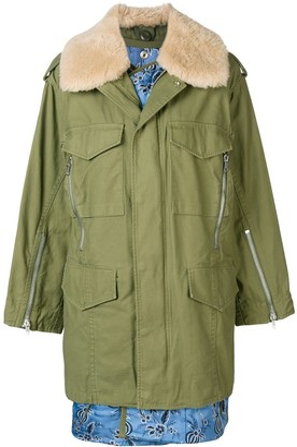 3.1 Phillip Lim Utility Jacket With Inner Vest