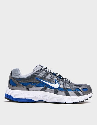 Nike Women's P-6000 in Wolf Grey/White-Game Royal Shoes | Leather