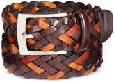 Tasso Elba Men's Braided Leather Belt, Created for Macy's