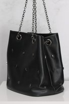 Rare Black Star Embellished Bag