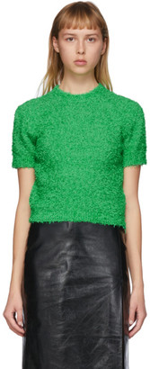 Gucci Green Boucle Sweater