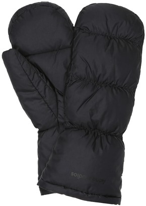 Acne Studios Quilted down mittens