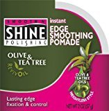 Smooth 'N Shine Smooth N' Shine Olive & Tea Tree Edge Pomade 2 oz. (Pack of 2)