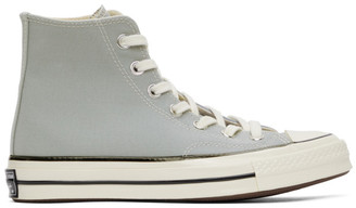 Converse Grey Chuck 70 High Sneakers