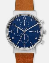 Skagen Ancher Brown Chronograph Watch