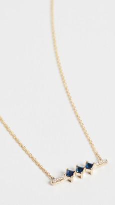 Jennie Kwon Designs 14k Sapphire Harmony Necklace