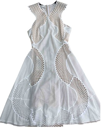 Stella McCartney White Lace Dress for Women