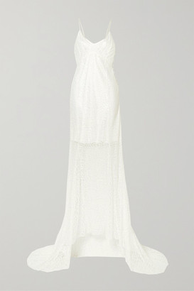 Les Rêveries Lace Gown - Ivory