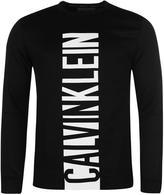 Calvin Klein Front Logo Crew Sweater
