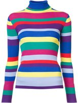 Mira Mikati striped turtleneck sweater