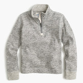 J.Crew Boys' heathered half-zip sweater