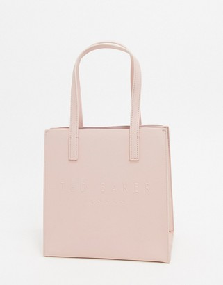 Ted Baker seacon crosshatch small icon bag in pink