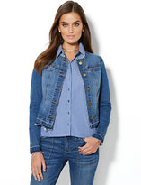 New York & Co. Soho Jeans - Bird-Accent Denim Jacket
