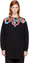 Marcelo Burlon County of Milan Black and Red Banmek Sweatshirt