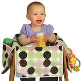 Leachco Diner Liner® Plush Booster Chair Liner in Girl Dot