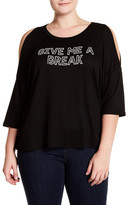 Hip Give Me A Break Tee (Plus Size)