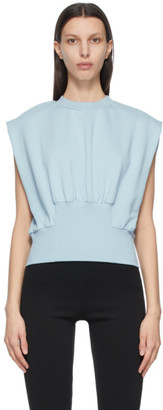 3.1 Phillip Lim Blue French Terry Tank Top