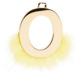 Fendi ABClick letter 'O' key charm