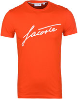 Lacoste Red Fair Play 33 Slim Fit T-shirt