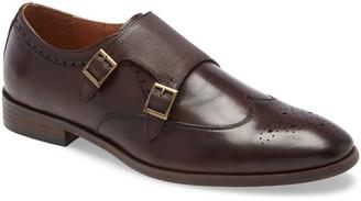 Ike Behar Hart Monk Strap Shoe