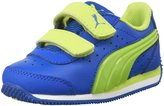 Puma Speed Light Up V Inf (Inf/Yth Royal/Lime Punch - 4