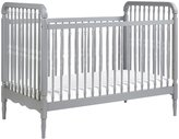 Million Dollar Baby Classic Liberty 3-In-1 Convertible Crib with Toddler Bed Conversion Kit - Grey