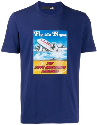Love Moschino Moschino Airlines T-shirt