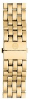 Michele Women's Urban Mini 16Mm Gold Plated Bracelet Watchband