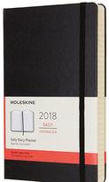 Moleskine NEW 2018 Large Black Hardcover Daily Diary