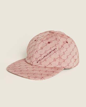 Stella McCartney Rose Flat Brim Hat