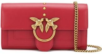 Pinko Logo Plaque Shoulder Bag