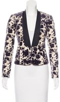Tory Burch Fitted Long Sleeve Blazer