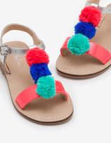Boden Pompom Sandals