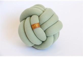 Juju & Jake Mini Knot Pillow - Sage Green