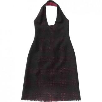 Gianni Versace Black Wool Dress for Women Vintage