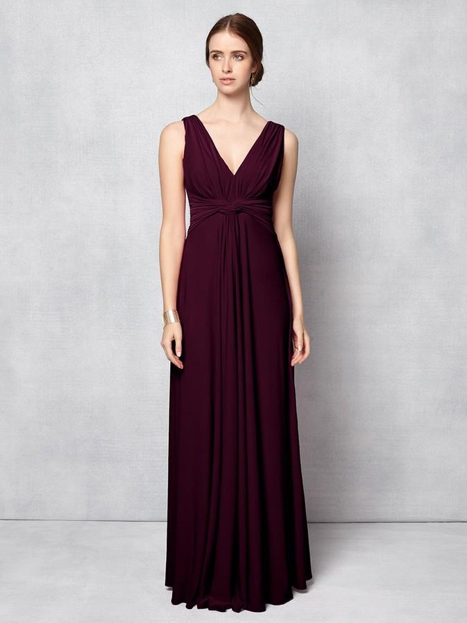 Phase Eight Arabella Maxi Dress, Berry