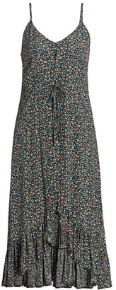 Rails Frida Freesia Print High-Low Dress