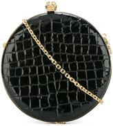 Alexander McQueen 'Skull' circle clutch - women - Leather - One Size