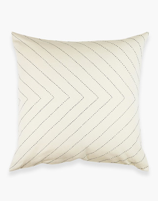Madewell Anchal Organic Cotton Embroidered Arrow Throw Pillow