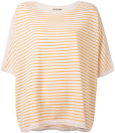 N.Peal oversized stripe T-shirt
