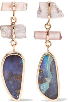 Melissa Joy Manning 14-karat Gold Multi-stone Earrings - one size