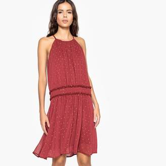 La Redoute Collections Embroidered Dropwaist Party Dress