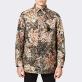Y-3 Y3 Men's All Over Print Quilted Shirt - Flower Camo AOP