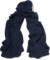Magaschoni Ruffle-trimmed cashmere scarf