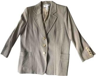 Sonia Rykiel Beige Wool Jacket for Women Vintage